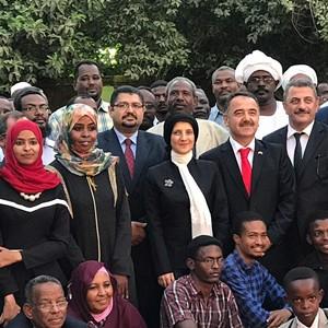 TÜRKİYE MEZUNLARI SUDAN'DA BULUŞTU