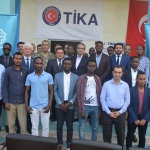 Somali Türkiye Mezunları Derneği TİKA Tarafından Yenilendi
