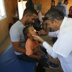 Türkiye Mezunu Filistinliler Han el-Ahmer Halkı İçin 'Tıp Günü' Düzenledi