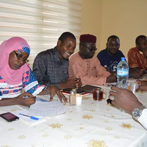 Nijer Türkiye Mezunları Derneği Türkiye Bursları Kapsamında Burs Kazanan Öğrencilere Yönelik Tanışma Toplantısı Gerçekleştirdi