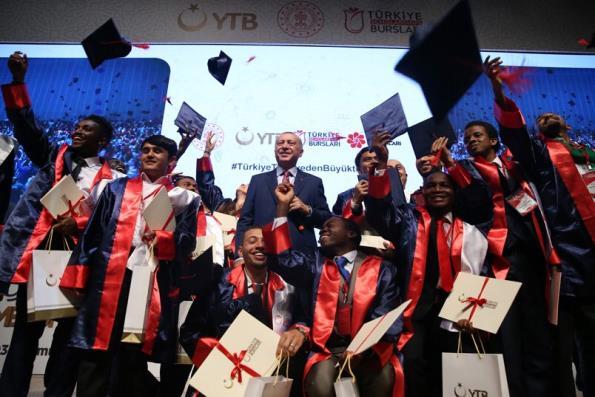 8'inci Uluslararası Öğrenci Mezuniyet Töreni Gerçekleştirildi