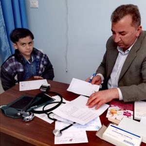"""Türkiye Mezunu Filistinliler Gazze Şeridi'nde """"Tıp Günü"""" Etkinliği Düzenledi"""