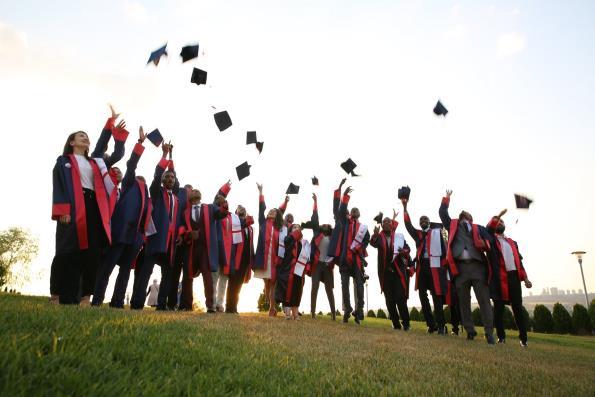 9'uncu Uluslararası Öğrenciler Mezuniyet Töreni Gerçekleştirildi