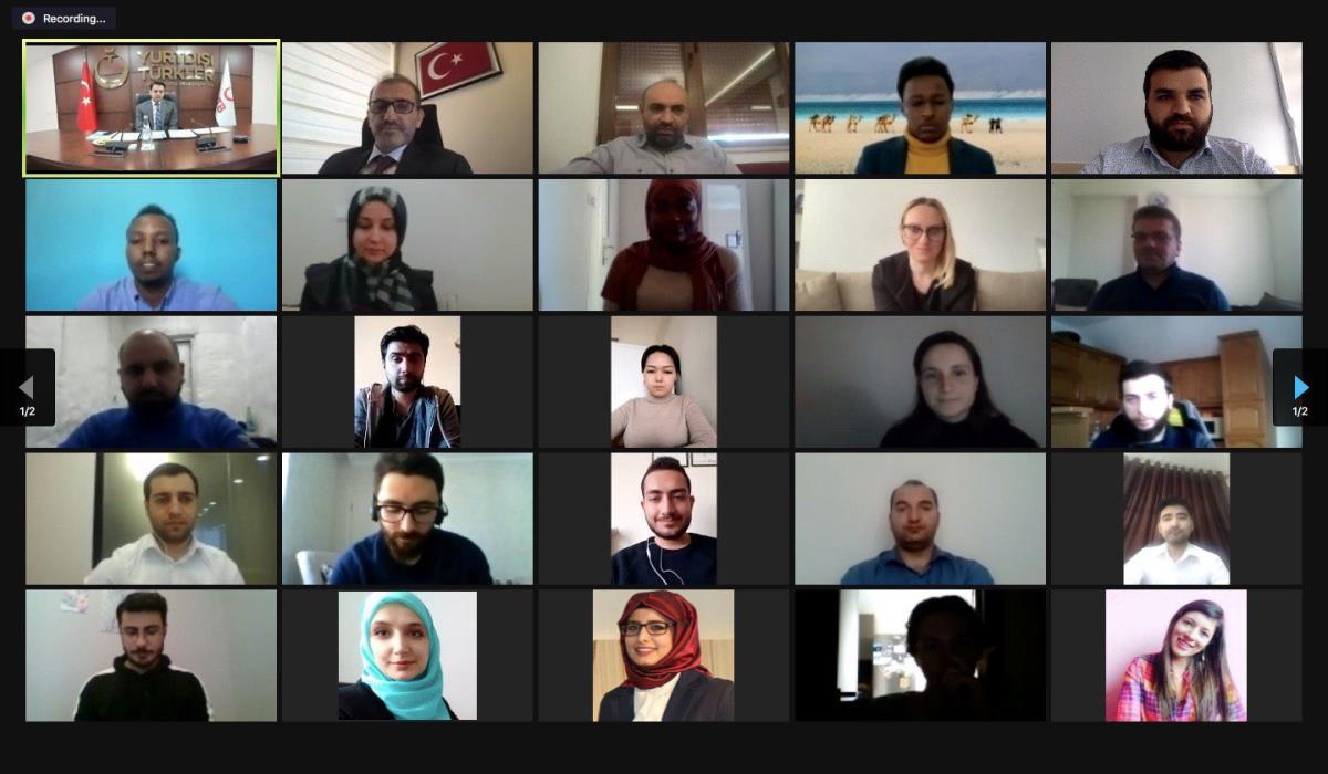 YTB ile AA iş birliğinde Türkiye Mezunlarına Yönelik 'Yeni Nesil Medya Eğitim Programı' Sona Erdi